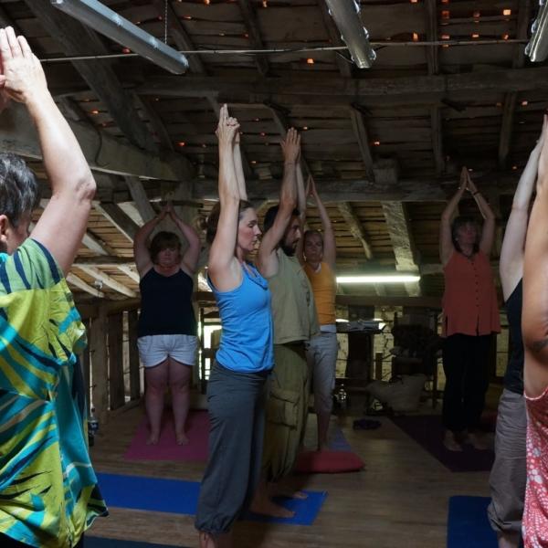 Yoga classes in Ruffec with Tandy Louise Studio