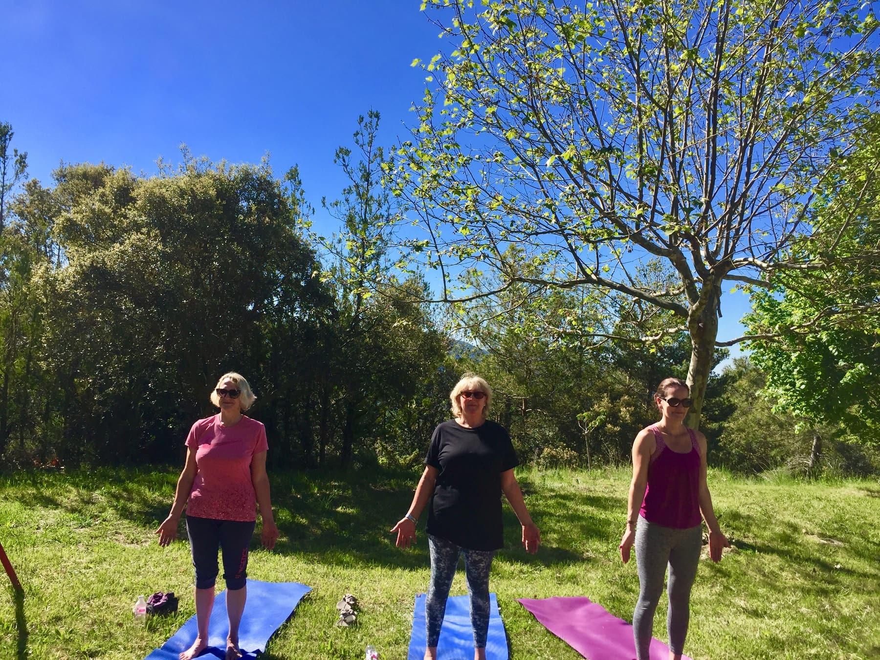 Yoga Hiking Catalan 2019