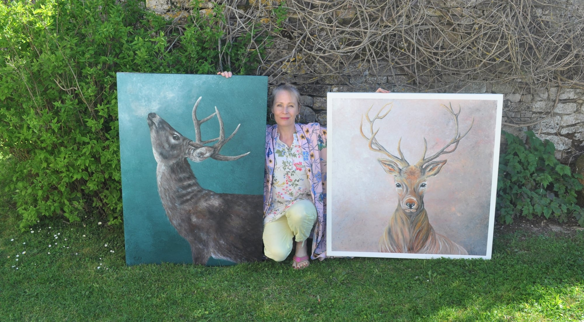 Yogini and contemporary artist Tandy Pengelly